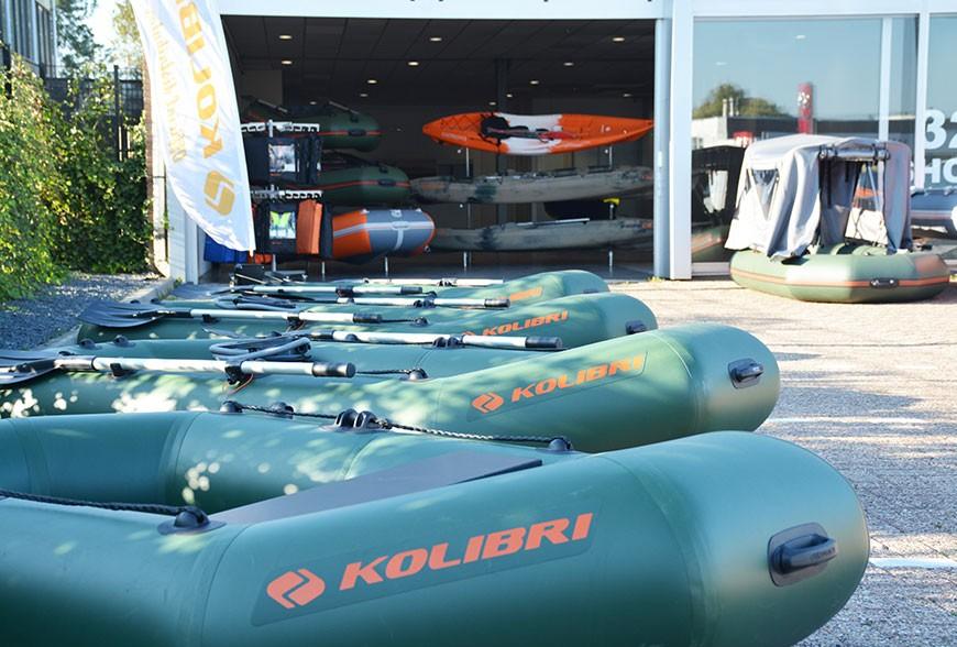 largest kolibri boats showroom in europe!